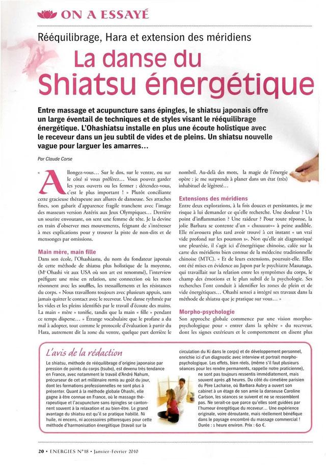 Shiatsu Magazine 2010